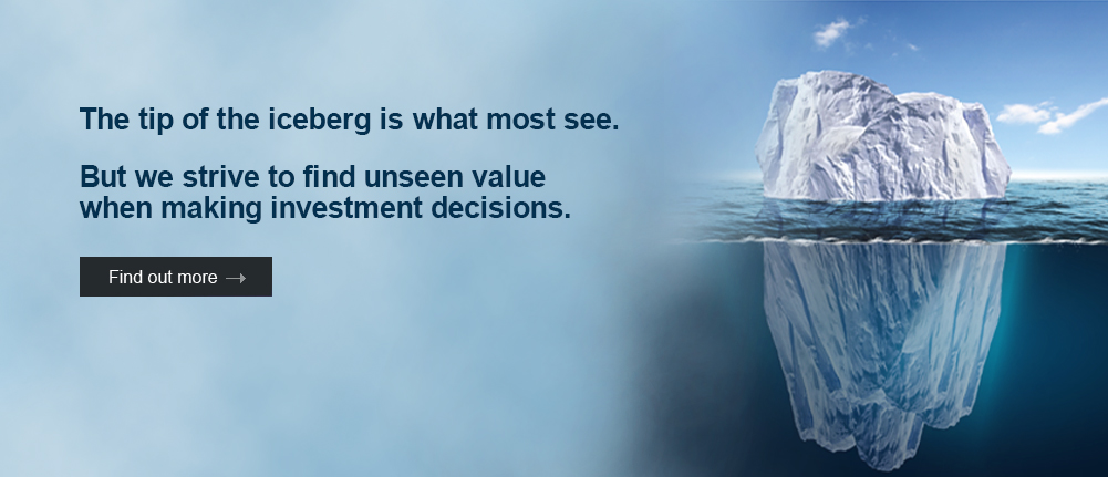 Look for intrinsic value beyond the share price of your investment target.